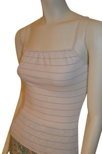 A|X Armani Exchange Top ivory/gold