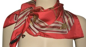 Gucci NIB GUCCI $360 SILK SQUARE NECK SCARF MADE IN ITALY