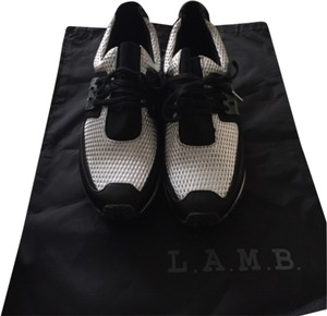 L.A.M.B. Black. Silver Athletic