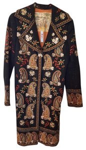 Biya Embroidered Indian Inspired Coat