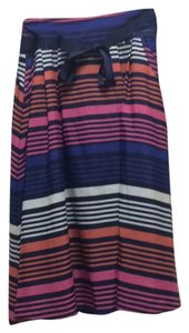 Old Navy Skirt Blue/Orange/Pink