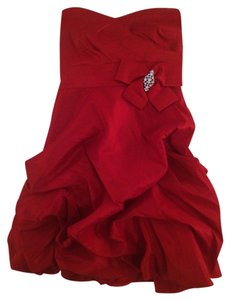DEB Formal Strapless Party Dress