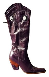 Boterine Dark Purple Boots