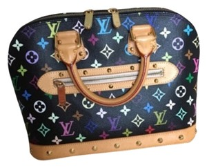 Louis Vuitton Satchel in Multi Color