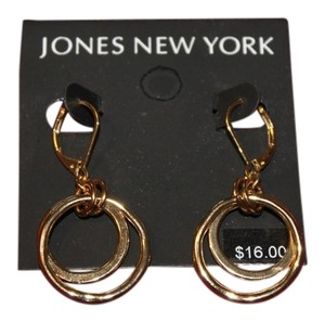 Jones New York Double-hoop earrings