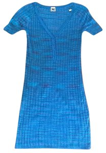 Missoni short dress Teal blue, blue, green and rose on Tradesy