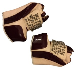 Jeffrey Campbell Wine and Bone Wedges