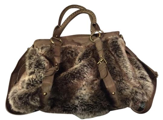 Preload https://img-static.tradesy.com/item/10610284/warehouse-london-browntan-faux-fur-satchel-0-1-540-540.jpg