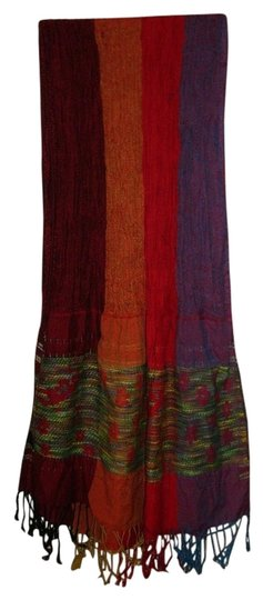Preload https://img-static.tradesy.com/item/1061136/multicolor-warm-pashmina-with-embroidery-scarfwrap-0-0-540-540.jpg
