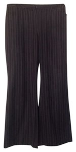 The Limited Trouser Trouser Pants Black/white pinstripe