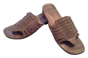 Dansko Tan Sandals
