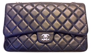 Chanel Classic Flap Three 3 Jumbo Shoulder Bag