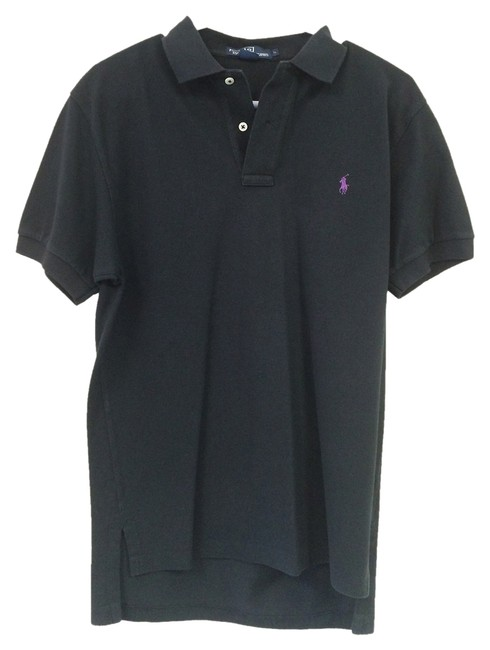 Preload https://img-static.tradesy.com/item/1061257/polo-ralph-lauren-black-men-s-sleeve-tee-shirt-size-os-one-size-0-0-650-650.jpg