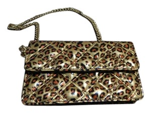 Marc by Marc Jacobs Quilted Gold Leopard prints Clutch
