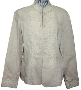Coldwater Creek KHAKI Blazer