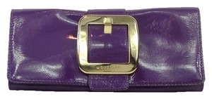 Michael Kors Evening Party Exclusive Iris Purple Clutch
