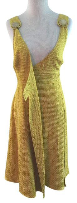 Preload https://item3.tradesy.com/images/burberry-mustard-yellow-wrap-knee-length-cocktail-dress-size-4-s-1061322-0-2.jpg?width=400&height=650