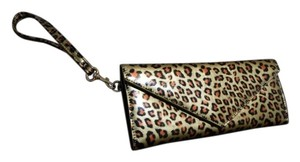 Marc by Marc Jacobs Wallet Wristlet in Gold Leopard Print