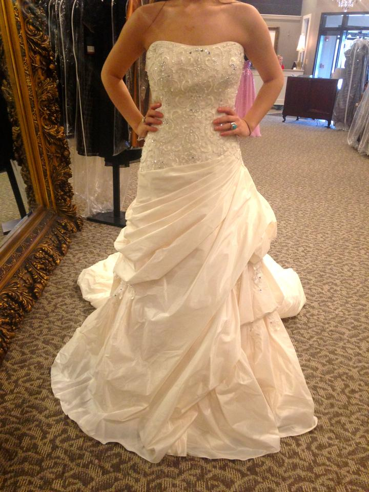 Maggie sottero tiffany wedding dress on sale 63 off for Maggie sottero wedding dress sale