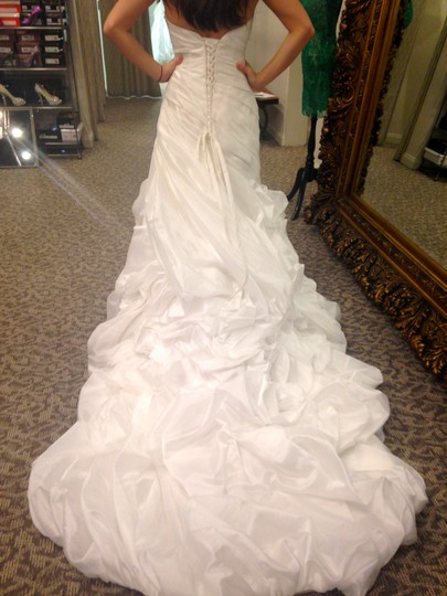 Maggie Sottero Ivory/Ivory Dion Formal Dress Size 8 (M)