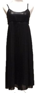 Black Maxi Dress by Isda & Co. Pleated Summer Strappy