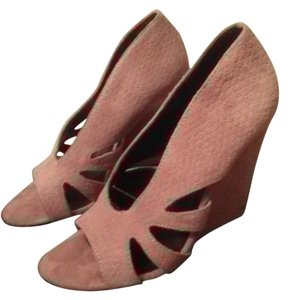 Elizabeth and James Wedge blush pink Wedges