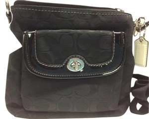 Coach Silver Hardware Swing Pack Front Pocket Cross Body Bag