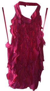 BCBGMAXAZRIA Hot Pink Halter Top