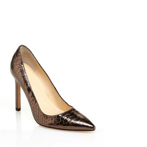 a2232451466 Pewter Leather Pumps