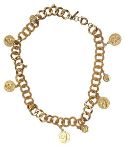 "Other ""B"" GOLD CHAIN COIN BELT"