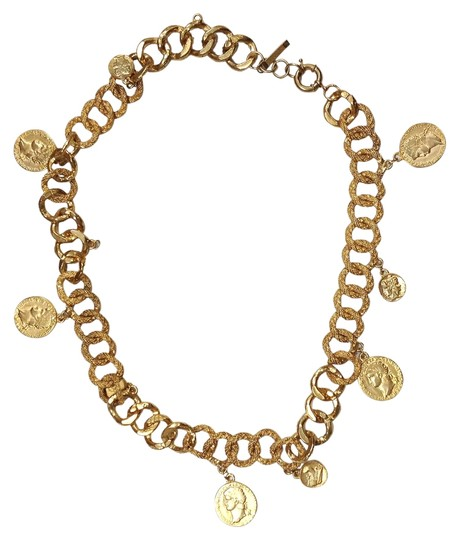 """Other """"B"""" GOLD CHAIN COIN BELT"""