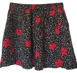 Cooperative Floral Pockets Mini Skirt Black