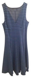 Peter Som short dress Blue Stripe on Tradesy
