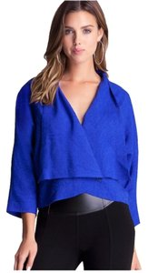 bebe New Kimono Medium Top Royal blue NWT