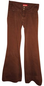UNIONBAY Brown Boot Cut Jeans