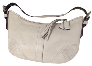 Coach Satchel in Ivory, Cream