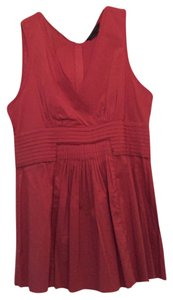 BCBGMAXAZRIA Top Burnt Orange