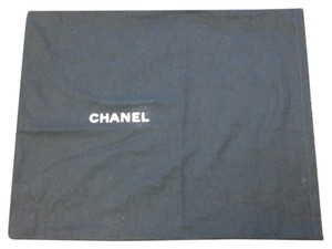 Chanel Chanel #4439 Open top Navy Dust Pouch Large 15 X 19 Tote Bag