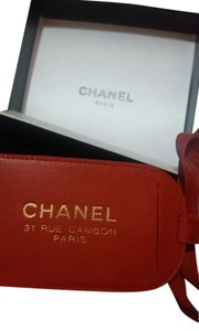 Chanel Chanel Leather Luggage Tag, New in Box