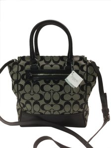 Coach Legacy Tote Signature Cross Body Bag