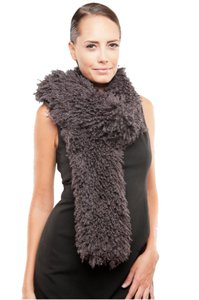 Stevie Mac New York Curly Faux Mongolian Lamb Boa / Scarf - by Stevie Mac New York *