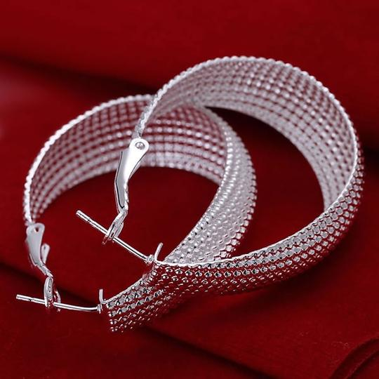 Preload https://item1.tradesy.com/images/new-new-hoops-large-bride-bridesmaid-gift-mother-wedding-bridal-sterling-silver-earrings-jewelry-1061875-0-0.jpg?width=440&height=440
