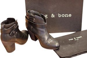 Rag & Bone Bootie Leather Black Boots
