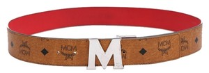 MCM MCM Reversible M Belt - 43 inches