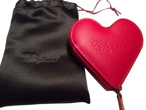 Chopard Chopard Heart Coin Pouch with black silk dust bag * Genuine Chopard Leather * FREE Shipping * BRAND NEW - NEVER USED *