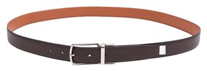 Coach * Coach Mens Brown Leather Belt - 42
