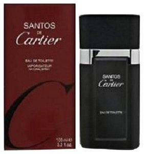 Cartier SANTOS DE CARTIER 3.3 / 3.4 oz /100 ml EAU DE TOILETTE MEN REGULAR , NEW IN BOX & SEALED !!!