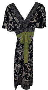 Phoebe Couture Kimono Style Empire Waist Dress