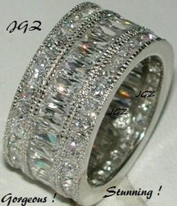 Other Triple Anniversary / Eternity Band * Brand New & Exclusive Design * Brand New *