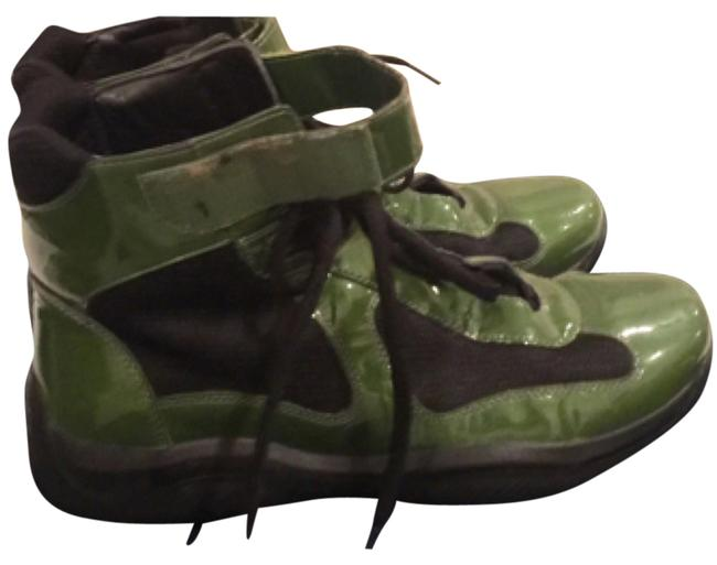 Item - Green High Top For Men In Sneakers Size US 8 Regular (M, B)
